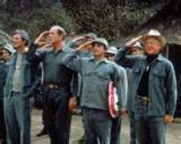 A Salute to M.A.S.H. Both the real units and the one that could help us to laugh at something that actually is not very funny at all: War and the injuries that result from it.
