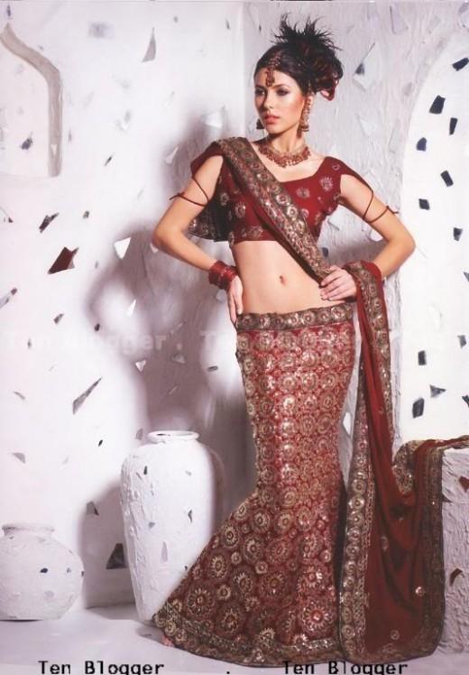 Designer Heavy Embroidered  Wedding Lehenga Choli Duaptta Set