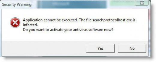 Malware Message