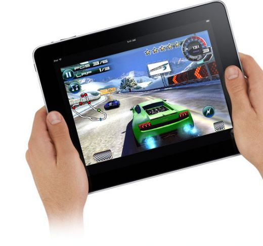 the iPad game apps