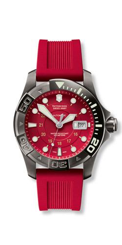 Victorinox Dive Red Watch