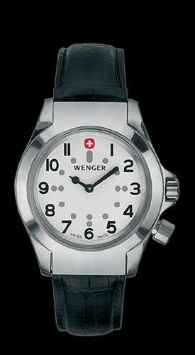 Wenger Field Braille Watch