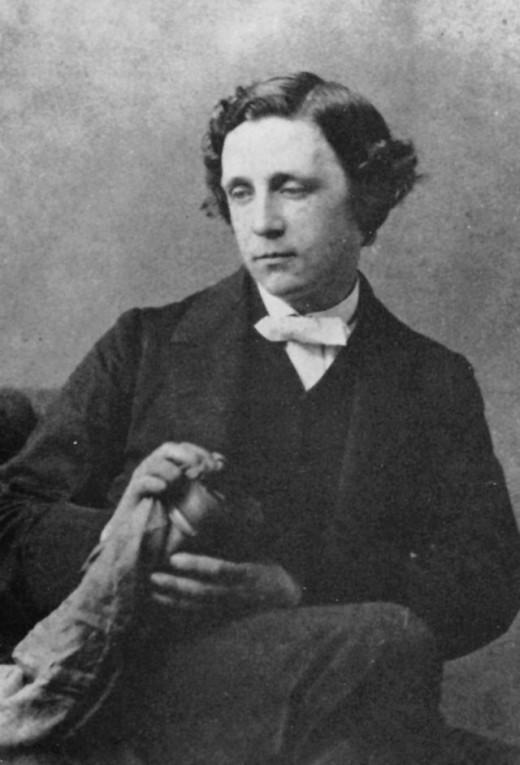 Lewis Carroll circa 1863
