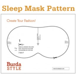 need a sleep mask pattern?