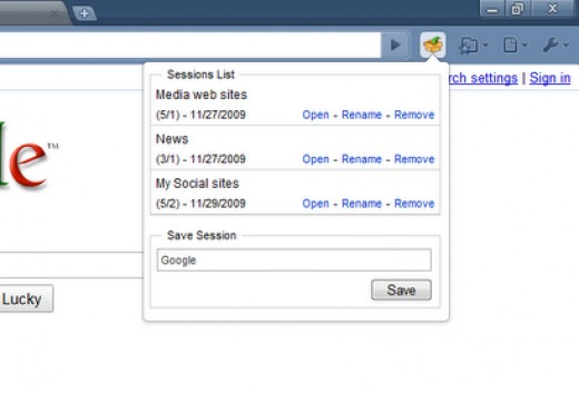 Session Manager is the Best Chrome Extension!