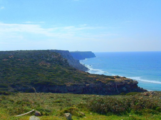 A view of Sagres from the Northwest coast