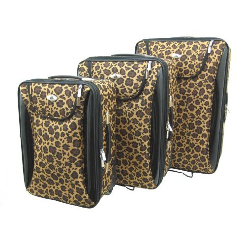Leopard Luggage Set
