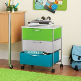 A Your Zone On A Roll Storage Cart is a great place for storing socks and handkerchiefs. you can purchase this at Walmart.