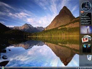 Windows Vista Home Screen