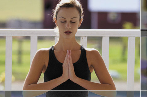 Basic yoga posture
