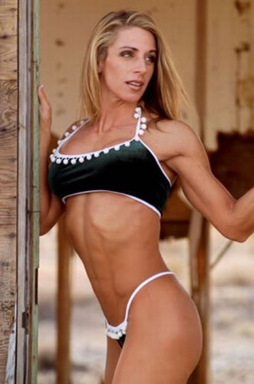 Julie Palmer - Female Fitness Competitors