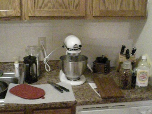 Kitchen aid mixers make a great gift for a man who loves to cook.