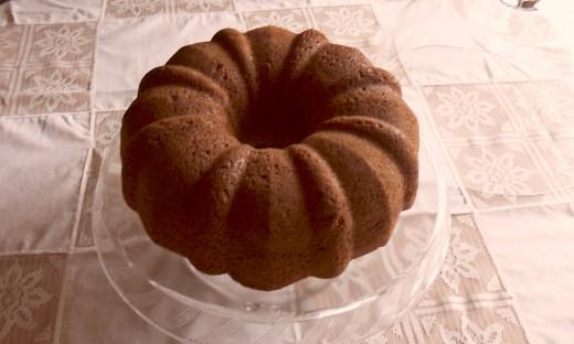 A moist delicious Pecan Cake