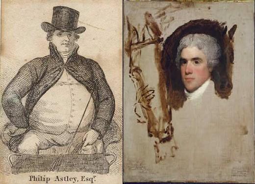 Phillip Astley and John Bill Rickett