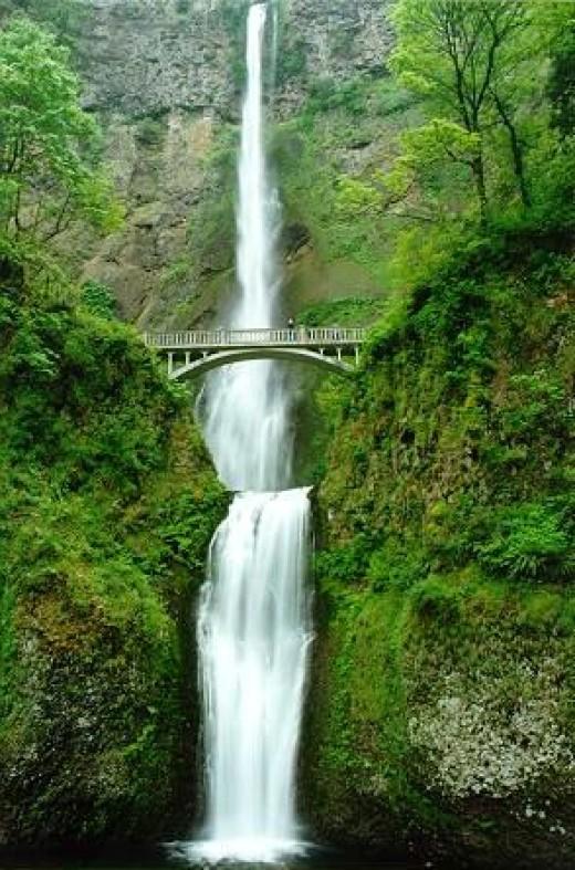 Multnomah Falls is well worth a visit