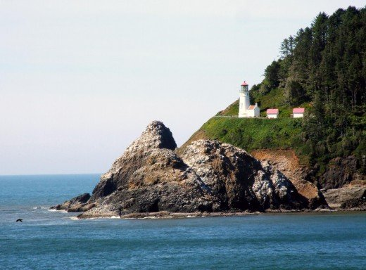 View of Heceta Head Lighthouse