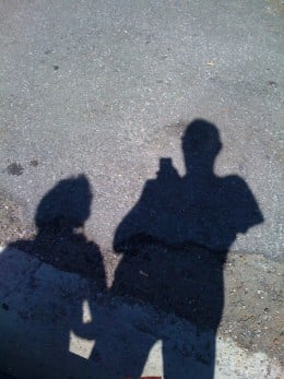 Shadows are the opposite of matter, but ghosts, in my experience, have even less substance.