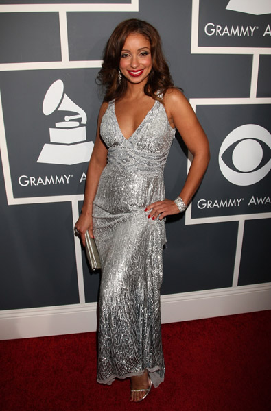 Mya looked great especially when she strolled in with Usher.