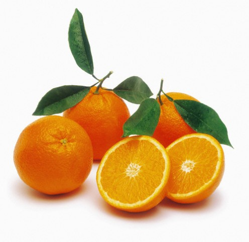 California is a primary producer of Navel Oranges.   Photo courtesy www.citrustreesonline.com