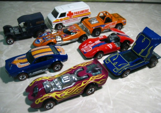 Redline Hot Wheels Cars