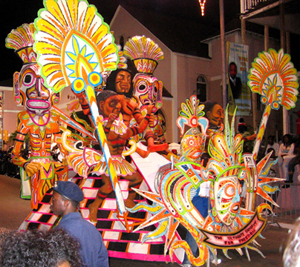 Romance: Dancing along with the Junkanoo