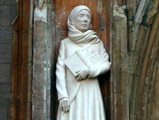 Juliana of Norwich. Image credit: bbc.co.uk