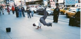 Street Dancers, Times Square, New York City