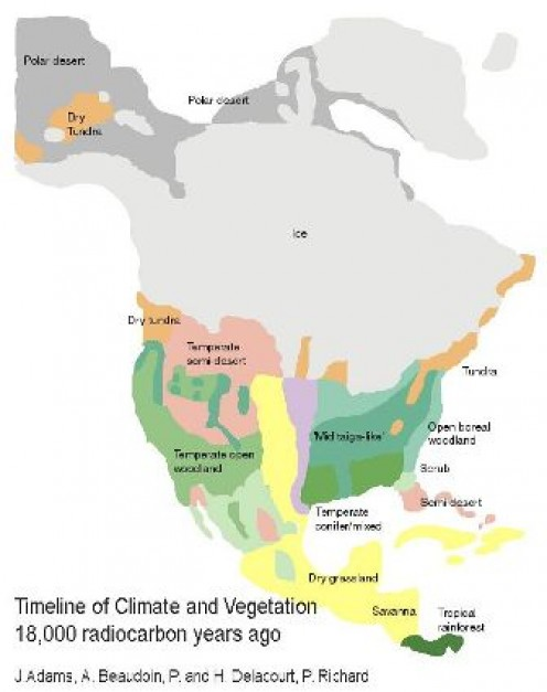 ANCIENT North American Glacial Cover
