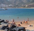 Las Teresitas is said to be the best beach in Tenerife in the Canary Islands