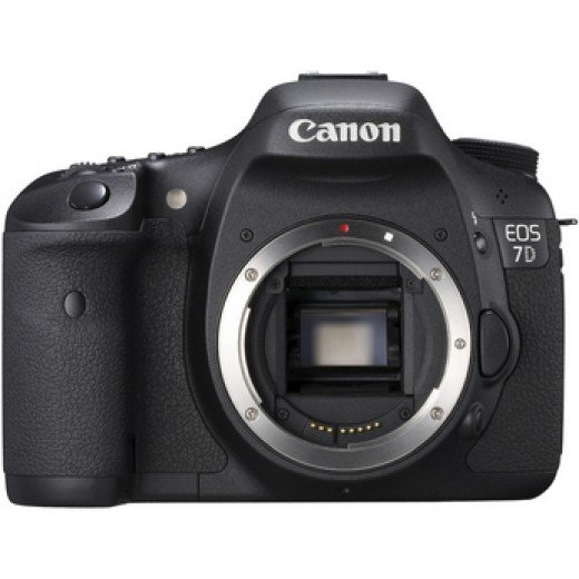 Photograph of the EOS 7D Body