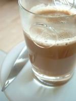 Spiced milk thandai