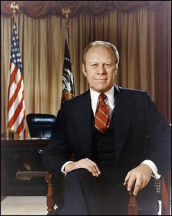 US History: President Gerald R. Ford (1974 - 1977)