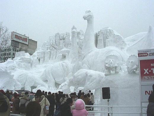 Snow Festival in Sapporo, Japan