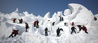 Harbin, China Snow Festival