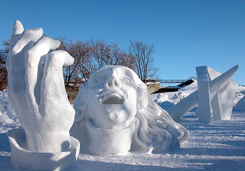 Quebec Winter Carnival  Contributions to http://madamed.wikispaces.com are licensed under a Creative Commons Attribution Share-Alike 2.5 License.