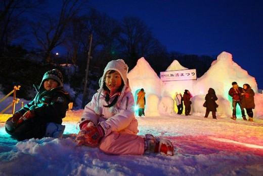 Lake Shikotsu Ice Festival, Japan