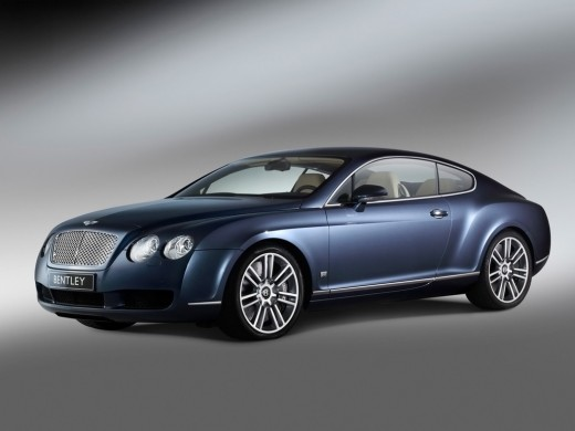 Beautiful Bentley Automobile - in steel blue