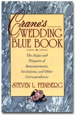 "Crane's ""Wedding Blue Book"" is the wedding stationery gold standard"