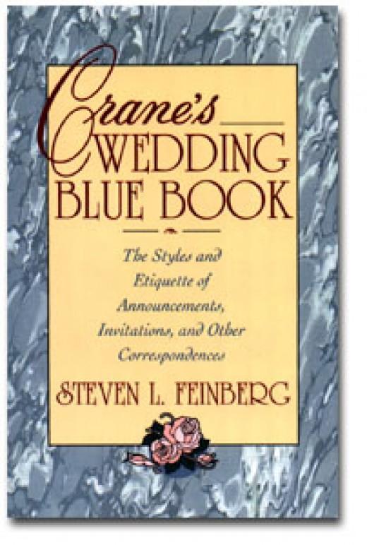 "Crane's ""Wedding Blue Book"" is the wedding stationery gold standard"