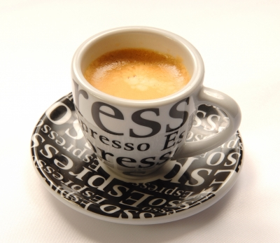 Espresso can really pack a punch