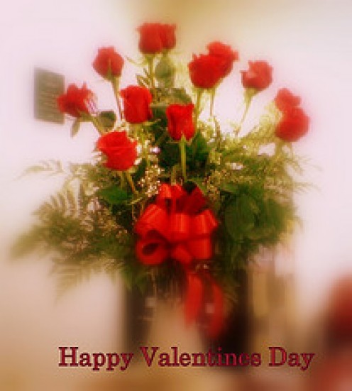 The Ubiquitous Valentine Red Roses..........All Photos courtesy of Flickr