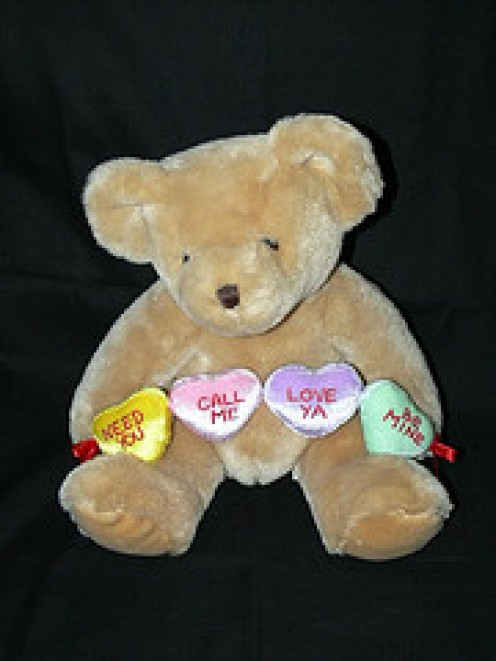 A Huggy Bear Valentine Gift