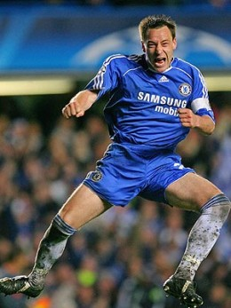 John Terry - Chelsea player...