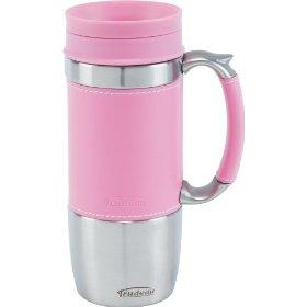 Cute Pink Travel Mug!