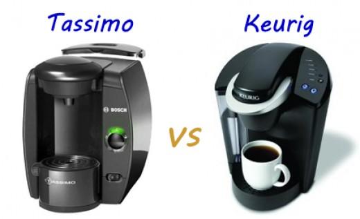 Best Coffee Maker Keurig Or Tassimo : Tassimo Brewer vs. Keurig Brewing System