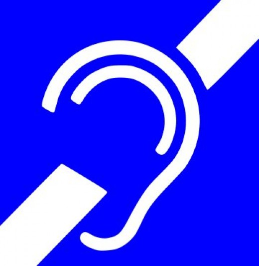 "The symbol mediacally meanshaving a profound hearing loss; Culturally it can be used to refer individuals who see themselves as part of a deaf culture; Cultural ""Deaf"" upper case- Culturally ""deaf"" lower case"