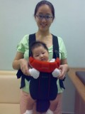 Forward facing - great for older babies with neck support and are curious to see the world