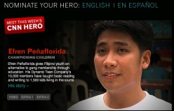 Efren Penaflorida, Jr.: CNN Hero of the Year