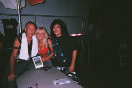 Tina and I with Mark Farner