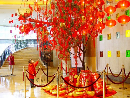 Festive decorations of Lunar New Year (http://www.chinapictures.org/)